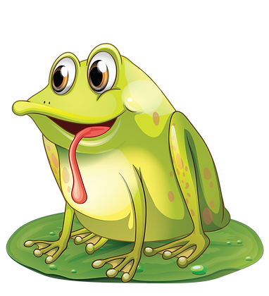 Frog with Tongue