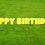 Thumbnail: HAPPY BIRTHDAY Letter Set - Yellow