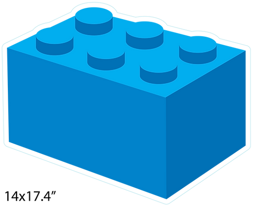 Building Brick: Blue