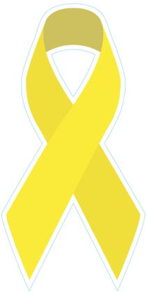 Awareness Ribbon - Yellow
