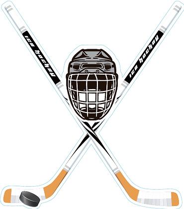 Hockey Sticks and Mask
