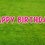 Thumbnail: HAPPY BIRTHDAY Letter Set -Bright Pink