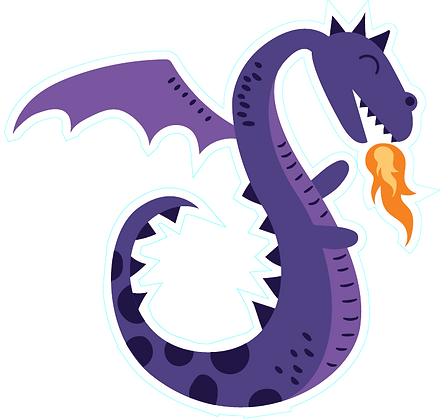 Dragon Cute_Purple