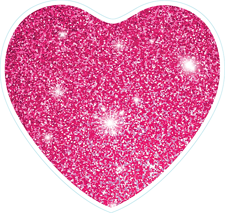 Heart_Pink Sparkle
