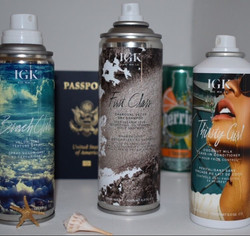 Go First Class with IGK Hair Products