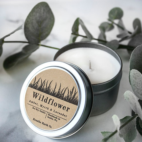 Wildflower   3oz Travel Tin