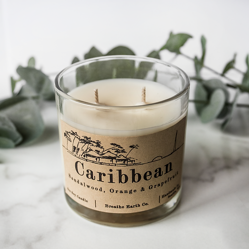 Caribbean | 8oz Soy Candle