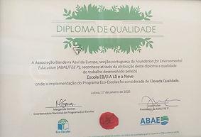 Certificado Eco-Escolas_la-e-neve.jpg