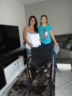 Albertina Moscardini Rodrigues Bragante e sua Filha Elizabeth