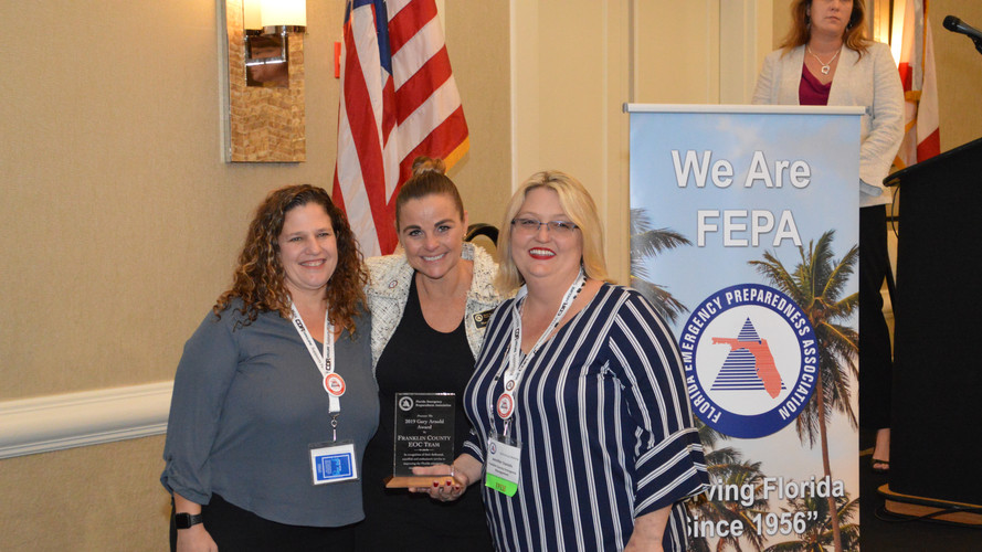 Franklin County EOC Team - Gary Arnold Award