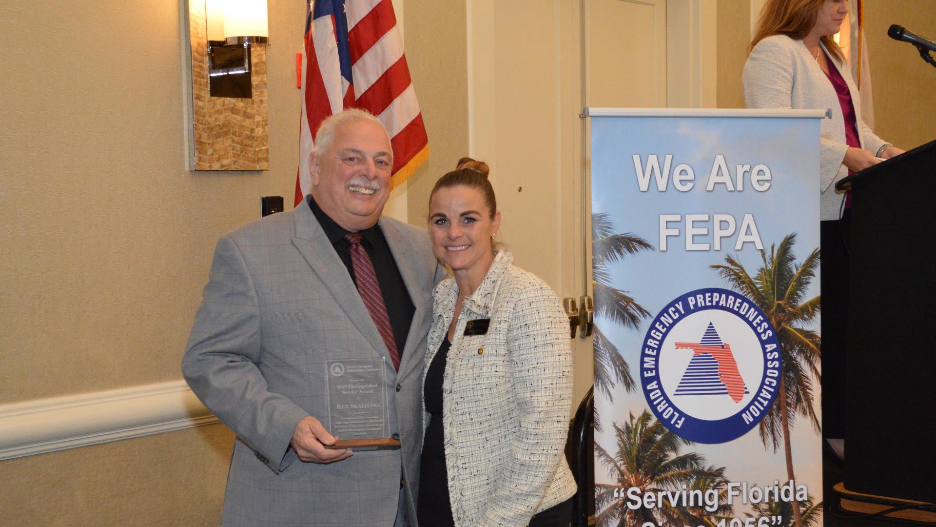 Ken Skalitzky - Distinguished Service Award