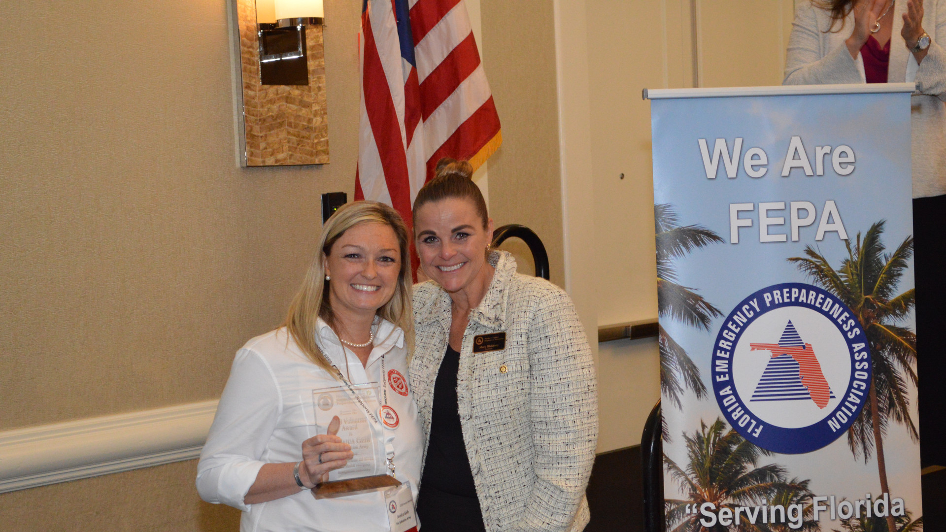 Jessica Geib - Volunteer Award