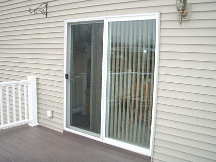 Custom patio screen door