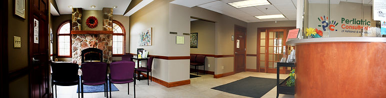 Separate wellness and illness waiting rooms for our patients