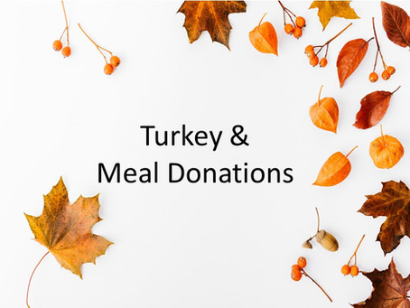 Turkey & Holiday Meal Giveaway