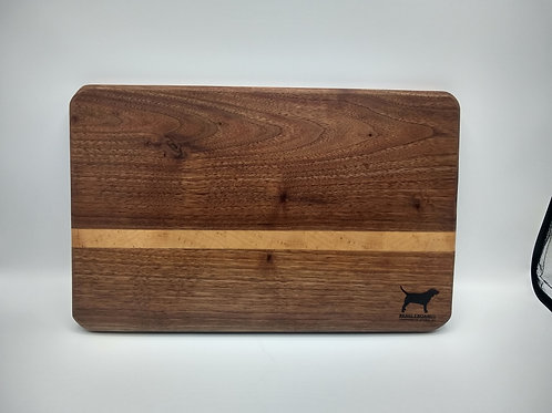 "10x14"" Cutting Board - Walnut and Maple"