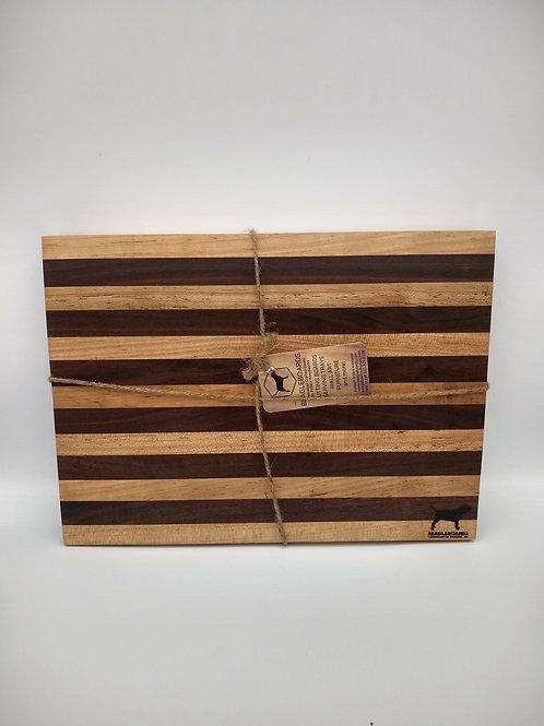 "10.5x14"" Butcher Block - Walnut and Maple"