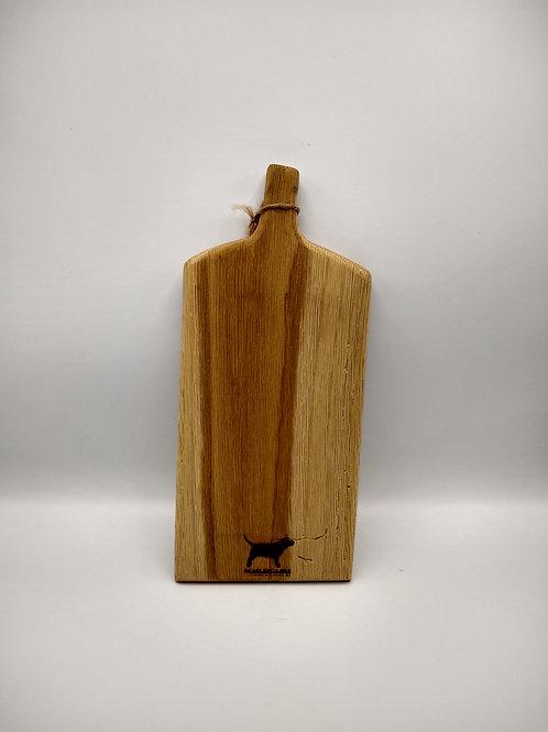 Rustic Handcut White Oak Cutting Board #1