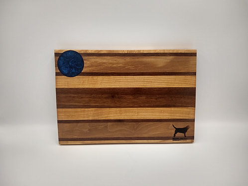 "7.5x11"" Bar Board - Walnut and Maple"