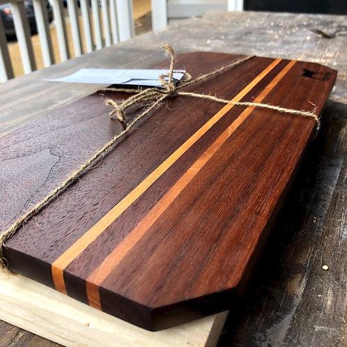 """9x13"""" Cutting Board - Walnut and Maple"""