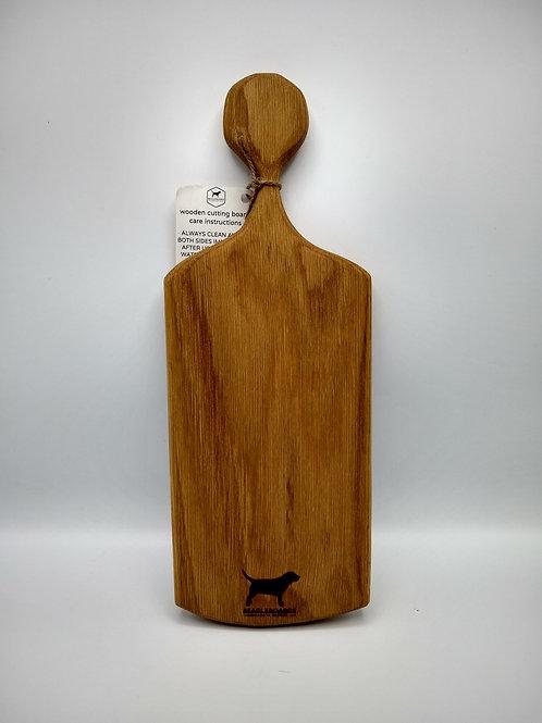 Handcut Rustic White Oak Cutting Board #4