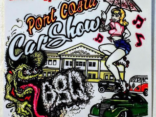 The Port Costa Car Show and BBQ 2019