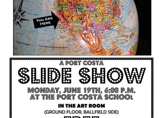 Port Costa Slide Show June 19, 2017 FREE!