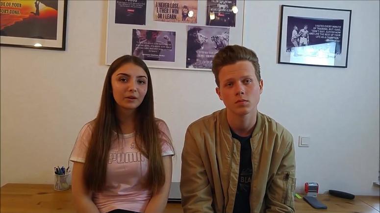 BOOM Feedback Laura und Maxi Selbstanaly