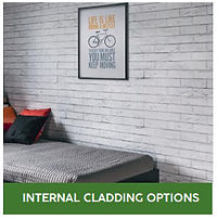 Garden room internal cladding