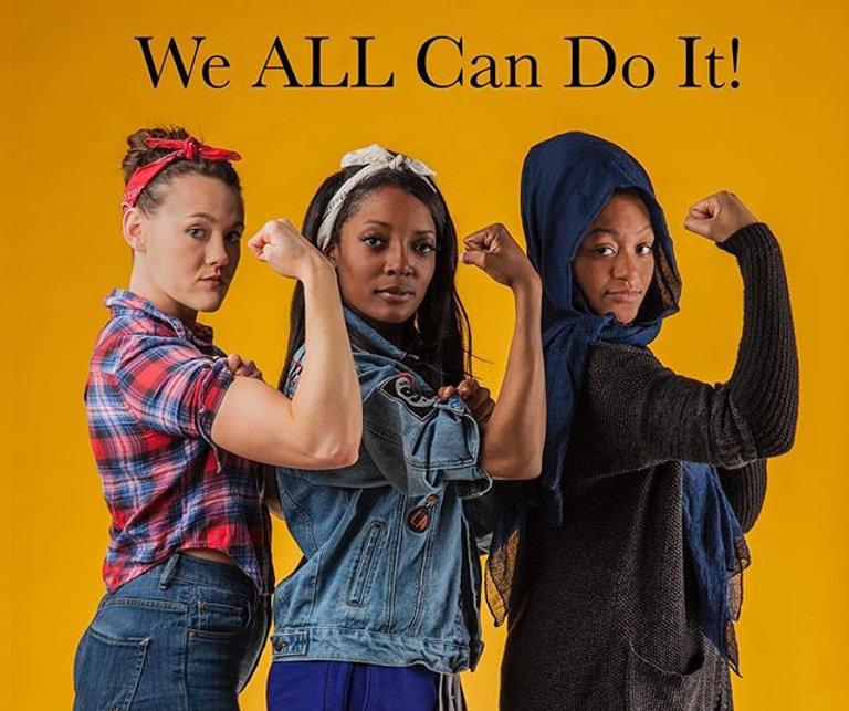 #wecanalldoit #rosietheriveter #womenemp