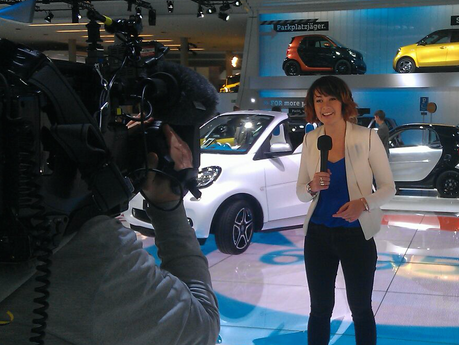 Smart Car   Frankfurt Motor Show Host