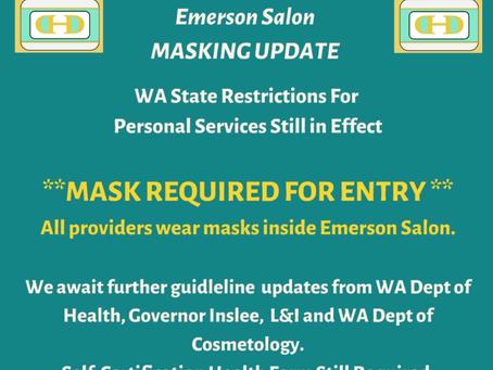 Masks Required Regardless of Vaccination Status