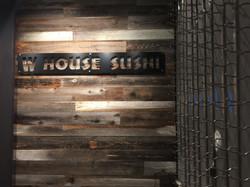 W HOUSE SUSHI