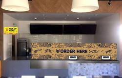 Order Here desk