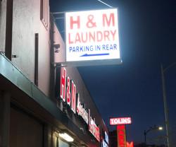 H & M LAUNDRY