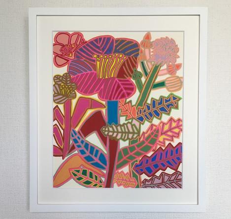 レプリカ「綿ときれいな花」