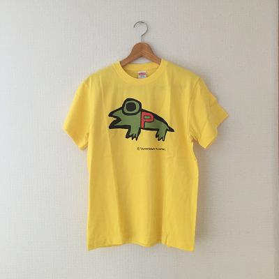 PちゃんTシャツ  黄色