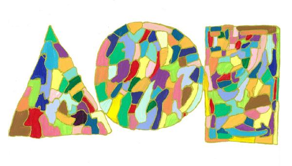 InspirationシリーズPaint.10  210×297 アクリル・ペン・キャンバス