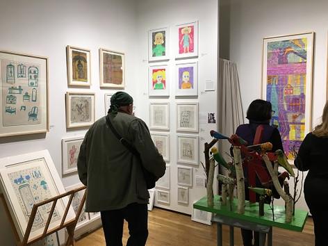 outsidera art fair N.Y. 2017.