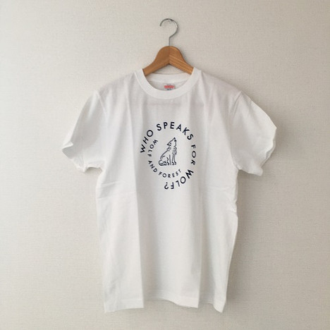 Who speaks for Wolf?Tシャツ  ホワイト