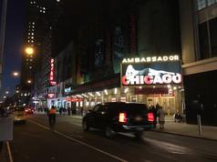 ブロードウェイの「シカゴ」