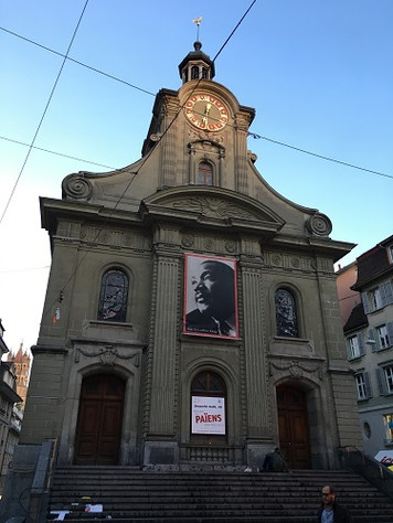 ローザンヌの教会