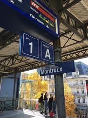 スイス モントルー駅
