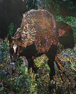 馬  1620×1303 油彩・キャンバス