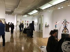 outsidera art fair N.Y .2017.