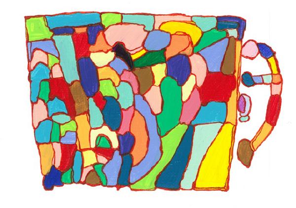 InspirationシリーズPaint.23  140×180 アクリル・ペン・キャンバス