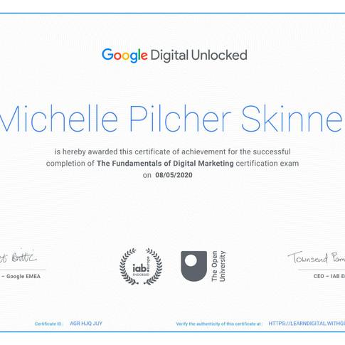 Fundamentals of Digital Marketing Certif