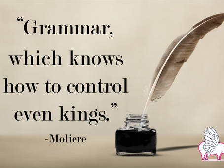 Being a Grammar Snob isn't a Bad Thing!