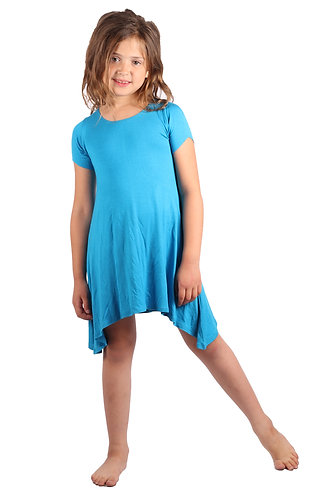 Blue Sky Comfy Swing Dress