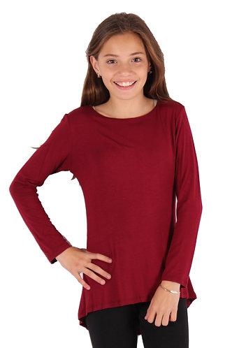 Burgundy Long Sleeve